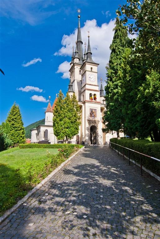 Rumunsko - kostel sv. Nikolase - Brašov