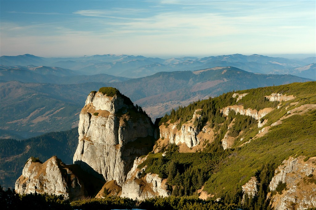 Rumunsko - pohoří Ceahlau