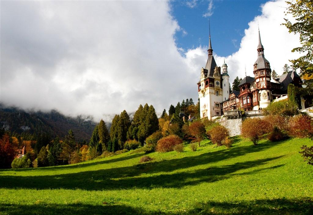 Rumunsko - hrad Peles