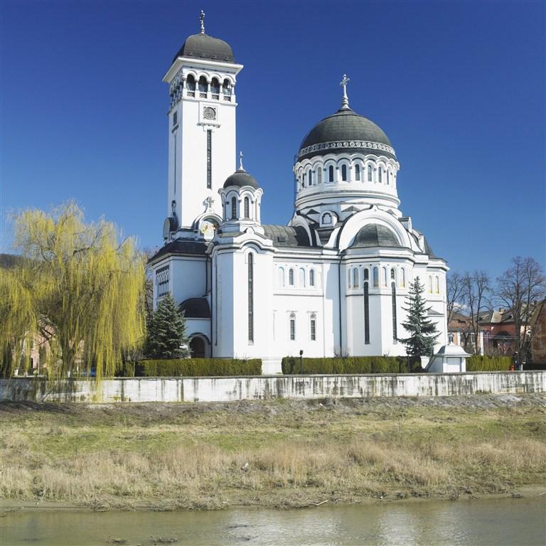 Rumunsko - Sighisoara - kostel