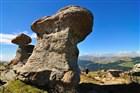 Rumunsko - pohoří Bucegi - skalní útvary Babele