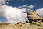 Rumunsko - pohoří Bucegi - skalní útvary Babele - Sfinga