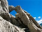 Rumunsko - pohoří Fagaraš - skalní okno - Fereastra Zmeilor
