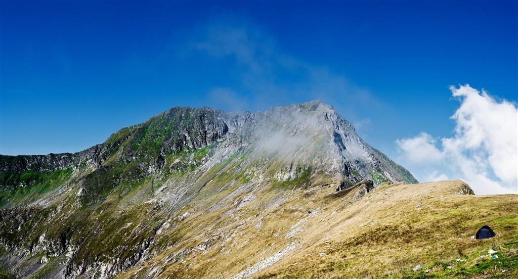 Rumunsko - Pohoří Fagaraš - vrchol Moldoveanu a Vistea