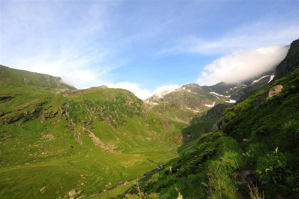 Rumunsko - Pohoří Fagaraš - vrchol Negoiu