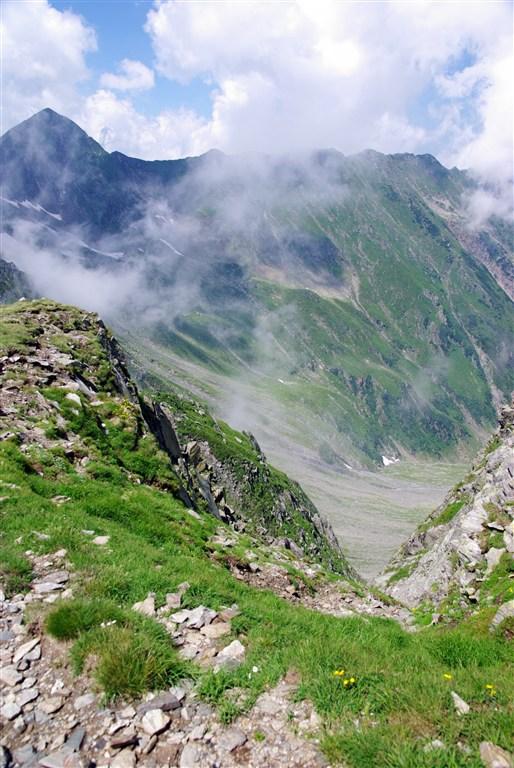 Rumunsko - Pohoří Fagaraš - údolí Vistea Mare