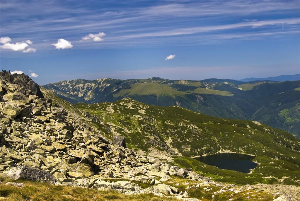 Rumunsko - Pohoří Fagaraš - jezero Zenoaga