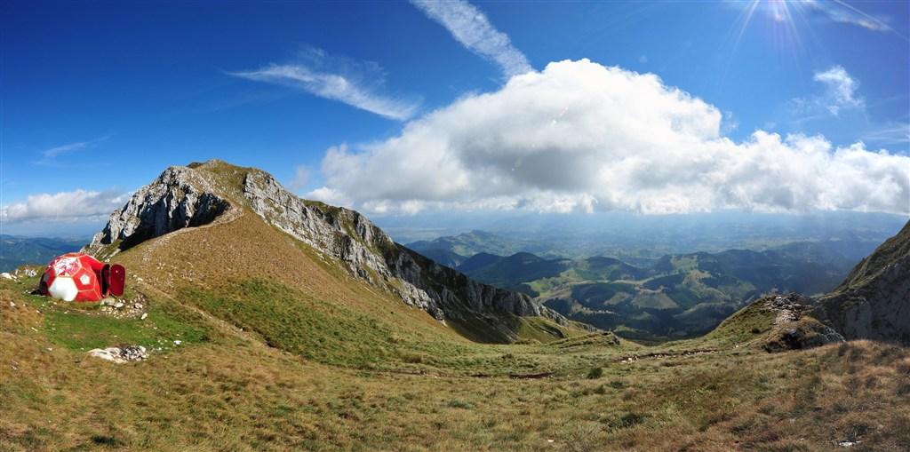 Rumunsko - pohoří Piatra Craiului