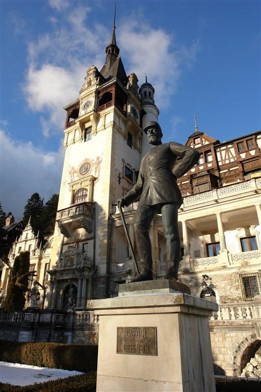 Rumunsko - Sinaia - hrad Peles