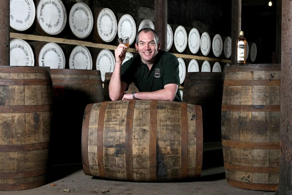 Irsko - Bushmills - Colum Egan - Master distiller