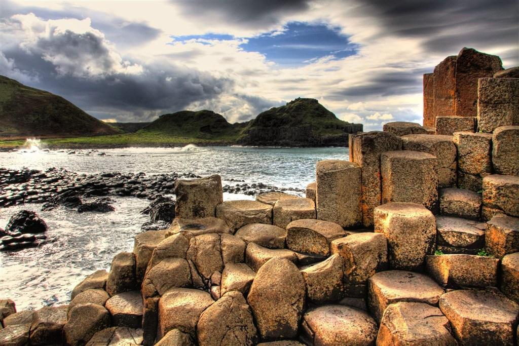 Irsko - Giants causeway - Obrovy schody