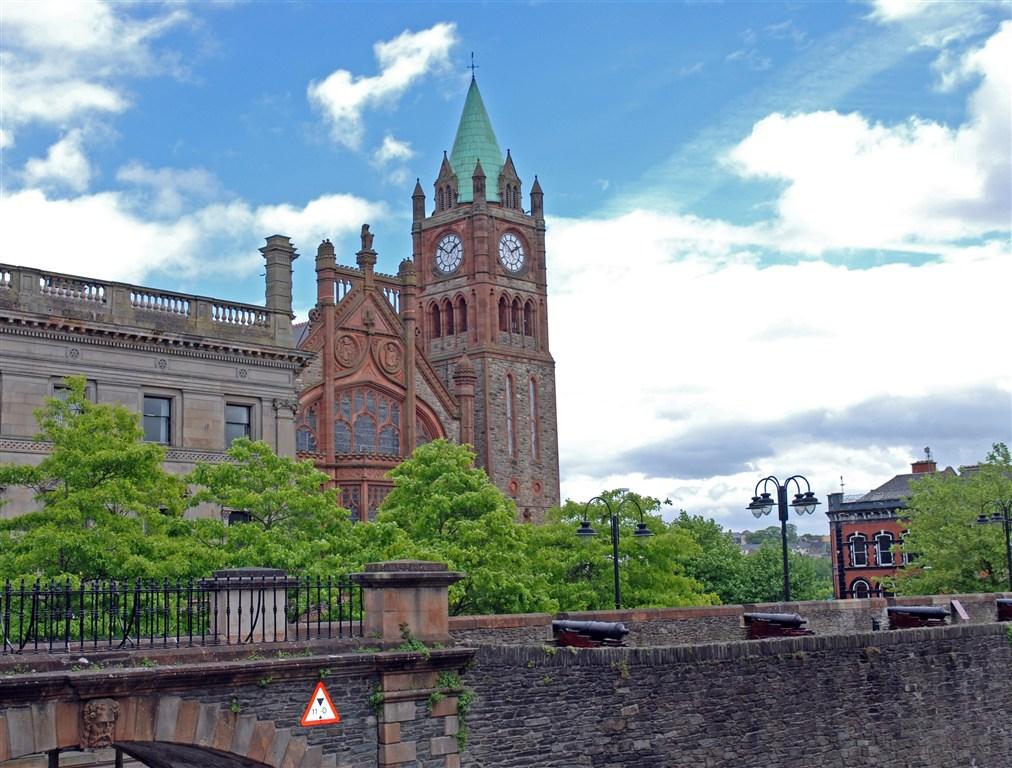 Irsko - kostel v Londonderry
