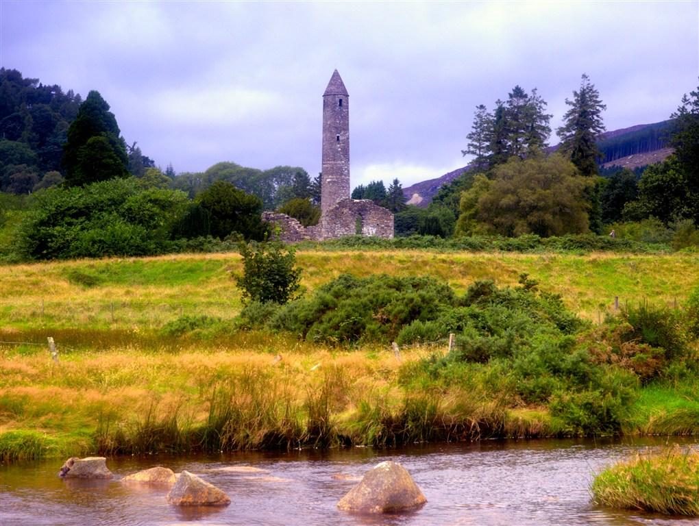 Irsko - Glendalough