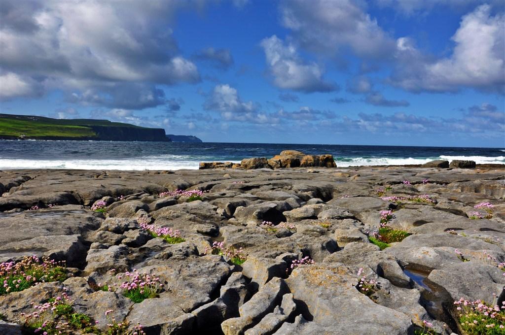 Irsko - Burren - pláž