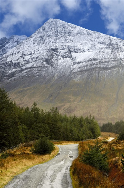 Skotsko - Vnější Hebridy - ostrov Isle Of Skye - Cuillin Mountains - Black Cuillin