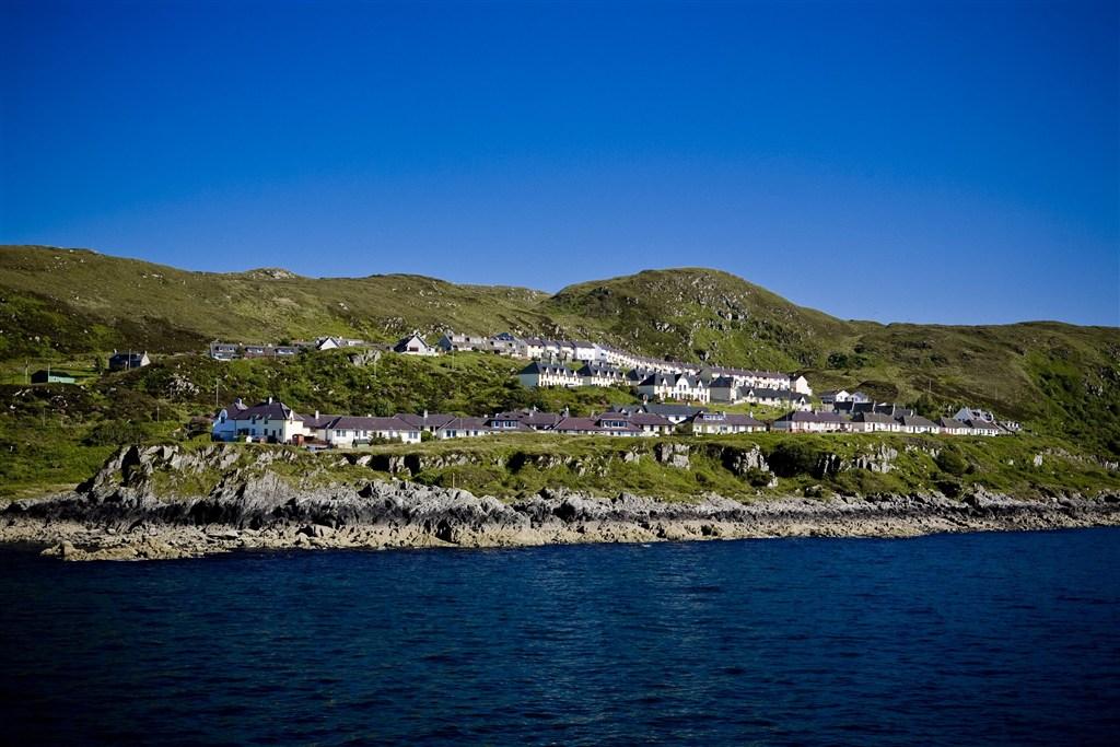 Skotsko - Vnější Hebridy - ostrov Isle Of Skye - Mallaig - rybářská vesnice