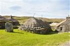 Skotsko - Vnější Hebridy - ostrov Lewis - starobylá osada