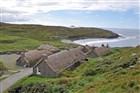 Skotsko - Vnější Hebridy - ostrov Isle Of Skye - Lewis - starobylá vesnice