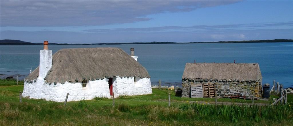 Skotsko - Vnější Hebridy - ostrov North Uist - tradiční období