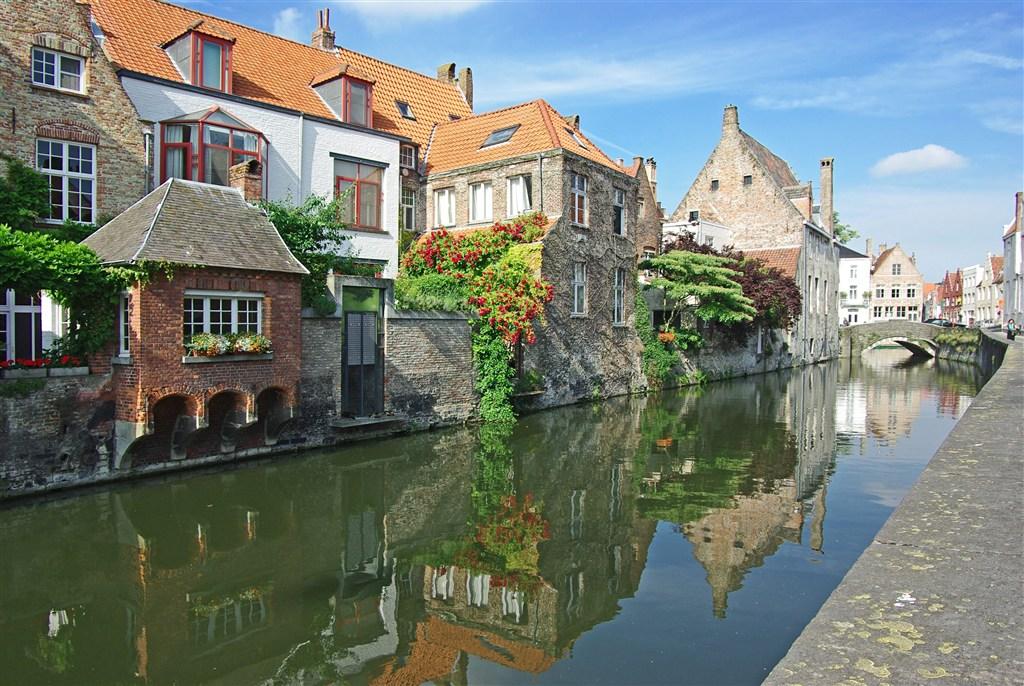 Belgie - Bruggy - malebná zákoutí