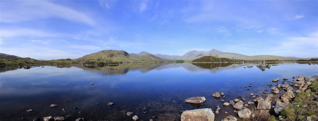 Skotsko - Skotská vysočina - Rannoch Moor