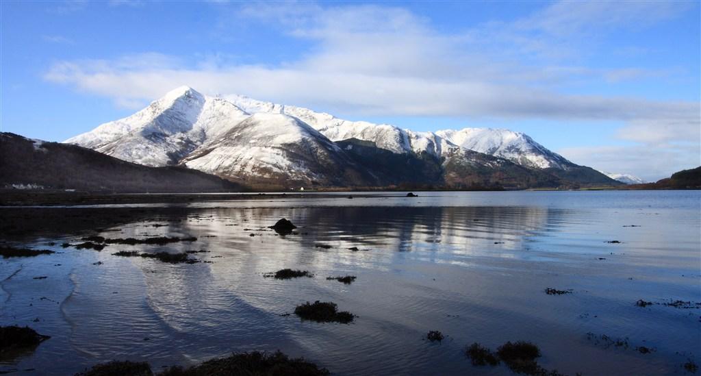 Skotsko - jezero Loch Kinlochleven