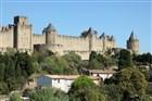 Jižní Francie - proslulé středověké město Carcassone