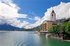 Rakousko - jezero Wolfgangsee