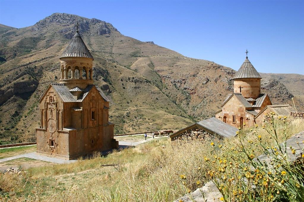 Arménie - klášter Noravank
