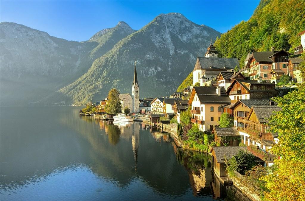 Rakousko - jezero Hallstatt
