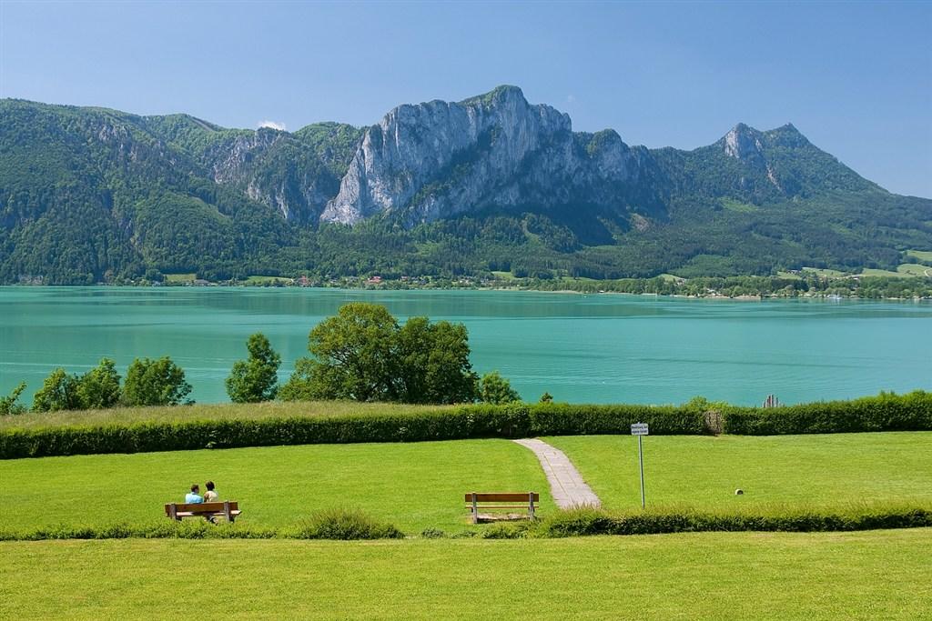 Rakousko - jezero Mondsee