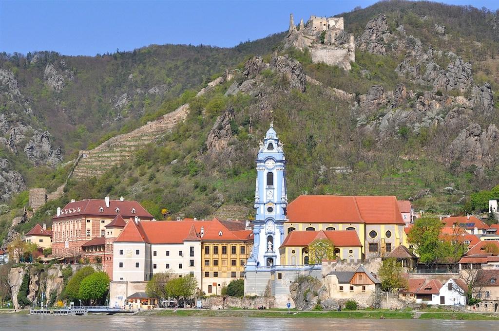 Rakousko - malebné městěčko Durnstein