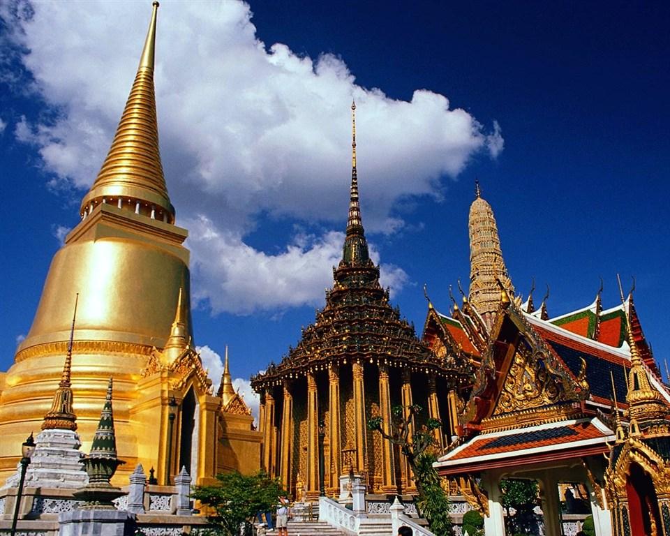 Thajsko - královský palác v Bankoku
