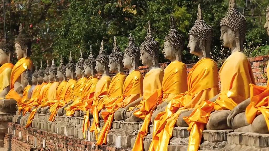 Thajsko vývalé královské město Ayutthayha