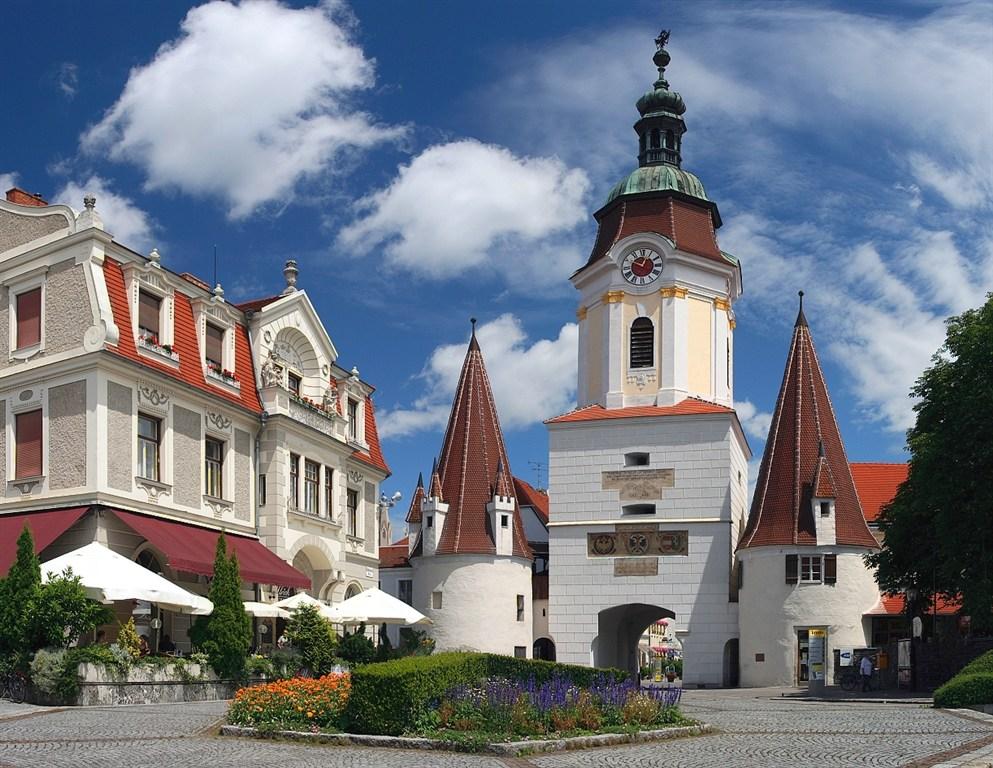 Rakousko - vstupní brána Krems