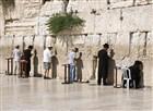 Izrael - Jerusalem, zeď nářků.