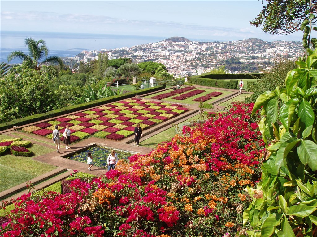 Madeira - Botanická zahrada Funchal