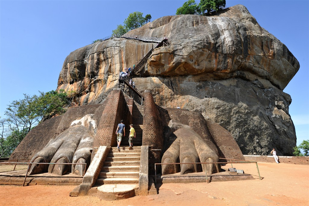 Srí Lanka - Lion rock