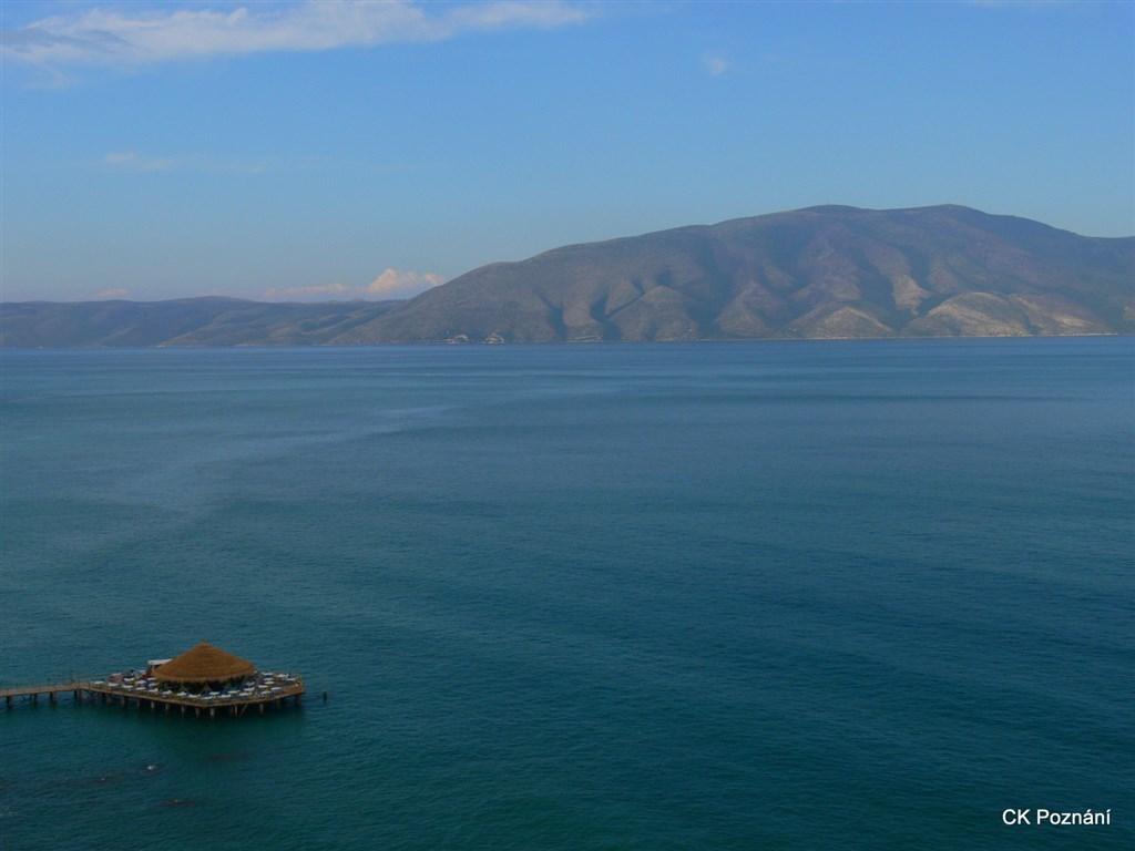 Albánie - adriatik v okolí Vlory - Valony