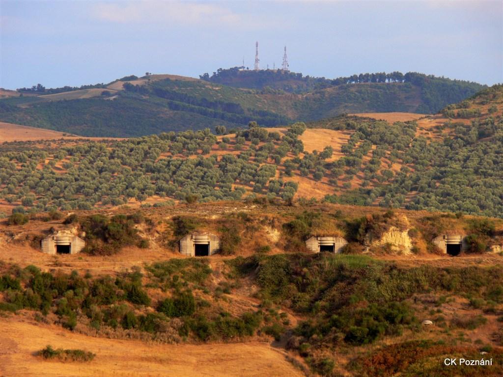 Albánie - Apollonie - tradiční bunky