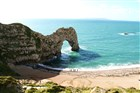 Durdle Door v Dorsetu