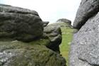 Kamenné formace v Dartmooru