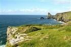 Anglie - Pěšky po pobřeží Cornwallu