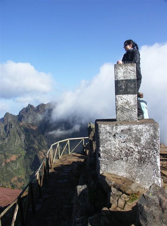 Madeira - vyhlídka Miradouro Ninhoda da Manta