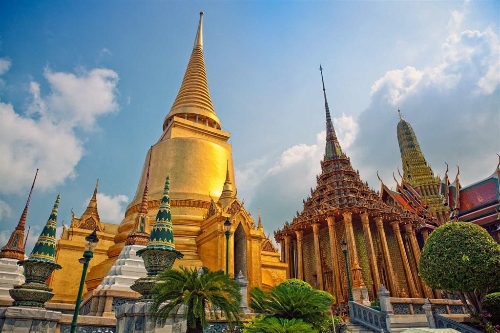 Grand Palace v Bangkoku (Thajsko)