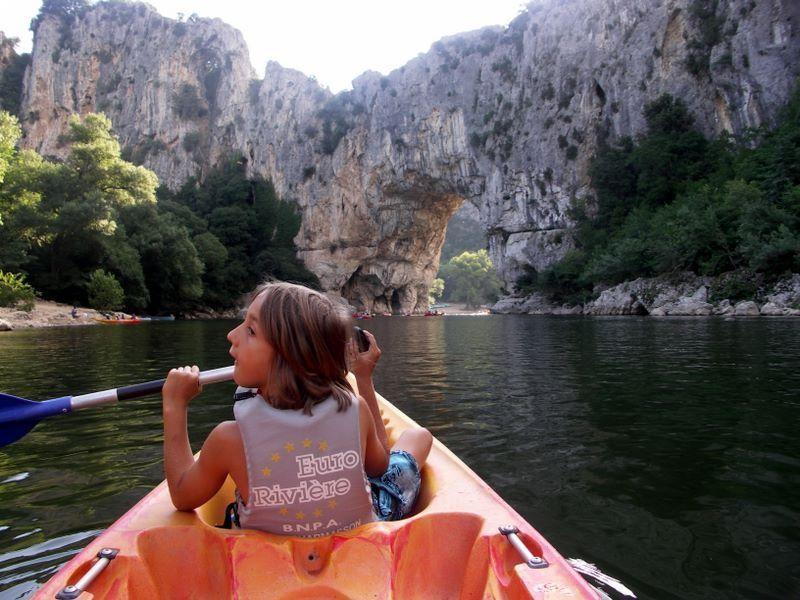 Francie - Provence - kaňon řeky Ardeche