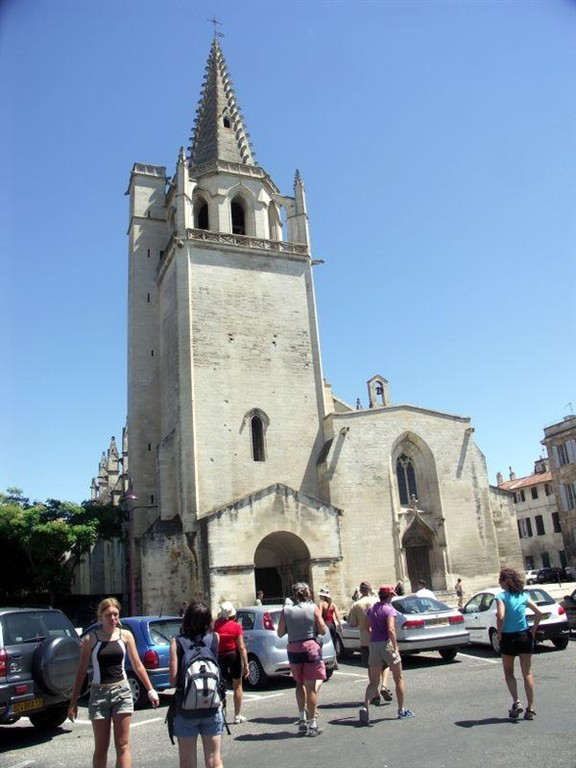 Francie - Provence - městečko Tarascon