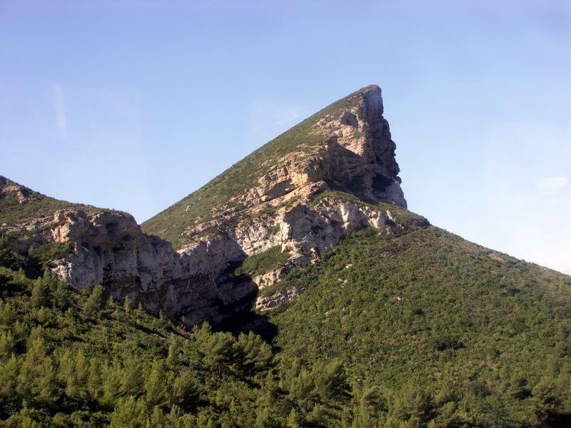 Francie - Provence - ROUTE DES CRÉTES
