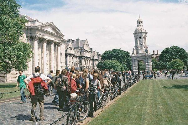 Irsko - Dublin, Trinity College