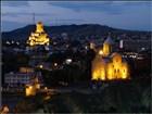 Tbilisi - pohled z pevnosti